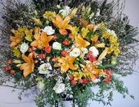 HoneyWorksさんのライブにスタンド花。「ポップかわいい感じ」。Zepp Sapporoにお届け。2020/02/02。 - 札幌 花屋 meLL flowers