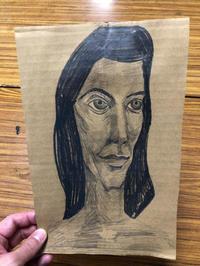 夏のイベントに向けて顔を描いてます。 - 大﨑造形絵画教室のブログ
