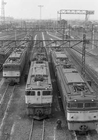 昔、機関区・駅で出会った車輌達(6)新鶴見機関区 EL - 南風・しまんと・剣山 ちょこっと・・・