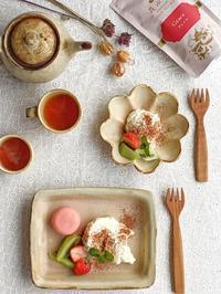 今日はおうちカフェ - 陶器通販・益子焼 雑貨手作り陶器のサイトショップ 木のねのブログ