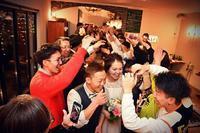 久しぶりに結婚パーティーカメラマン - 酒は呑んでも飲まれるな