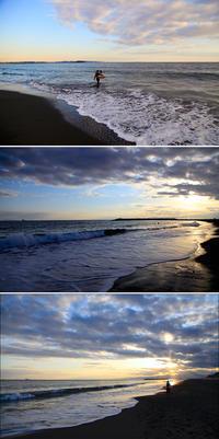 2020/02/11(TUE) 穏やかな夕方の海辺で.......。 - SURF RESEARCH