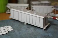【鉄道模型・HO】ホキ5700 初期型を作る・2 - kazuの日々のエキサイトな企み!