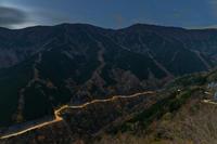 国道309号の夜明け - katsuのヘタッピ風景