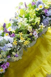 春のアーティフィシャルフラワー - お花に囲まれて