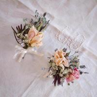 プライベートレッスン - driedflower arrangement ✦︎ botanical accessory ✦︎ yukonanai ✦︎