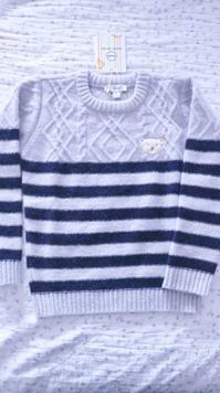 シュタイフの男児用ウールセーター☆ - ドイツより、素敵なものに囲まれて②