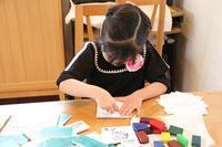 昨日の教室の様子です - 大阪府池田市 幼児造形教室「はるいろクレヨンのブログ」