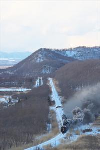 2020SL冬の湿原号6(2020/02/07-09) - まるさん徒歩PHOTO 4:SLやまぐち号・山風景など…。 (2018.10.9~)