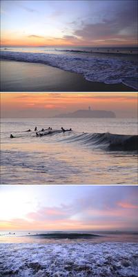 2020/02/14(FRI)今朝、ウネリが残りサーフィン出来ました。 - SURF RESEARCH