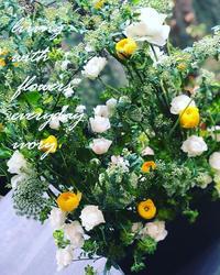 ラナンでしょ‼︎ -  Flower and cafe 花空間 ivory (アイボリー)