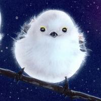【#毎日一絵チャレンジ】#アクリル画「シマエナガ ver.9」 - junya.blog(猫×犬)リアリズム絵画