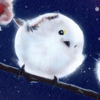 【#毎日一絵チャレンジ】#アクリル画「シマエナガ ver.10」 - junya.blog(猫×犬)リアリズム絵画