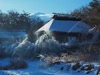 富士山凍れる世界 - 風の香に誘われて 風景のふぉと缶