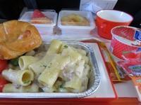 ドゥルクエアーの機内食 - ブータン便り