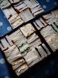 サンドウィッチの差し入れ - Kitchen diary
