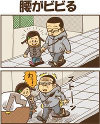 腰がビビる - 戯画漫録
