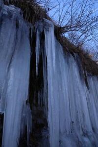 梨木温泉の氷柱(2) (2020/2/13撮影) - toshiさんのお気楽ブログ