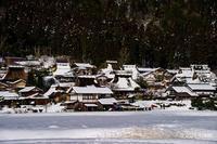 美山雪模様1 - toshi の ならはまほろば