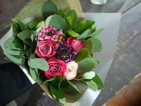 バレンタインデーに花束。澄川2条にお届け。2020/02/14。 - 札幌 花屋 meLL flowers