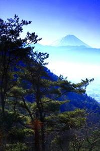令和2年2月の富士(8)甲府盆地越しの富士 - 富士への散歩道 ~撮影記~