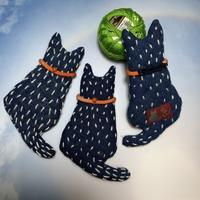 猫さんブローチ1 - 「にゃん」の針しごと