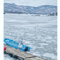 冬の裏磐梯  凍る桧原湖 - C* 日和