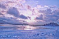 絶景 裏磐梯細野の朝焼け - C* 日和
