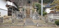 白河を歩く角折神社1@福島県白河市 - 963-7837