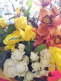 お祝い スタンド花 - ブランシュのはなたち