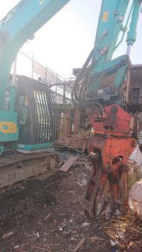 一軒家解体工事 - ホームプラザ大東の家づくり現場