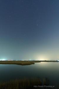 福島潟でスターリーナイトフィルターを使ってみる - デジタルで見ていた風景