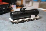 【鉄道模型・HO】3軸タンク車・タサ600を作る・3 - kazuの日々のエキサイトな企み!