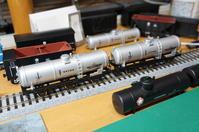 【鉄道模型・HO】3軸タンク車・タ550を作る・3 - kazuの日々のエキサイトな企み!