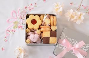 猫クッキー缶 - お茶の時間にしましょうか-キャロ&ローラのちいさなまいにち- Caroline & Laura's tea break