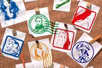 阪急梅田店Let's Stamp♪ スタンプパラダイス - 筆一本あれば人生は楽し! -イラストレーター原田伸治-
