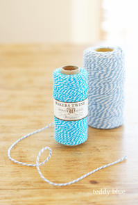Lovely Bakers Twine  ベイカーズトワイン - teddy blue