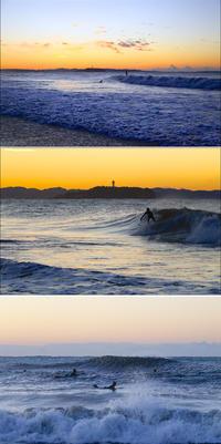 2020/02/18(TUE) 波ある朝.....サーファー達で賑わう。 - SURF RESEARCH