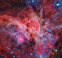りゅうこつ座の美しい巨大なカリーナ星雲NGC3372と極超巨星 - 秘密の世界        [The Secret World]