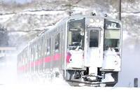 雪中撮影 - SHIMANOびいきでCANONびいき