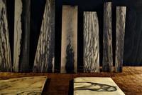 黒柿の杢端材 - SOLiD「無垢材セレクトカタログ」/ 材木店・製材所 新発田屋(シバタヤ)