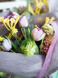 送別ようの花束 - ブランシュのはなたち