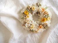 【オーダー作品】ウェルカムスペースのリース - よもやま koto's flower atelier