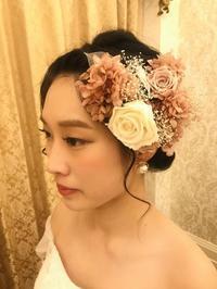 なんて美しい花嫁様2020.2.15 - 北赤羽花屋ソレイユの日々の花