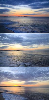 2020/02/20(THU)今朝は穏やかな海辺です。 - SURF RESEARCH