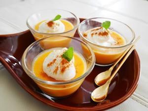 かぼちゃのプリン♪ - This is delicious !!