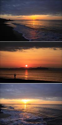2020/02/21(FRI)思いがけず朝焼けの海辺でした。 - SURF RESEARCH