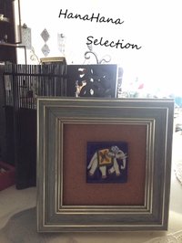 ブルーポタリーのミニタイル - HanaHana Selection