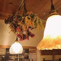 minneでオーダー頂きました!「ミモザのフライングリースが素敵ですよ!」編 - ドライフラワーギャラリー⁂ふくことカフェ