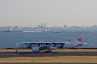 2/21 JALのA350XWB×スカイツリーとアライアンス機。 - uminaha-t's blog